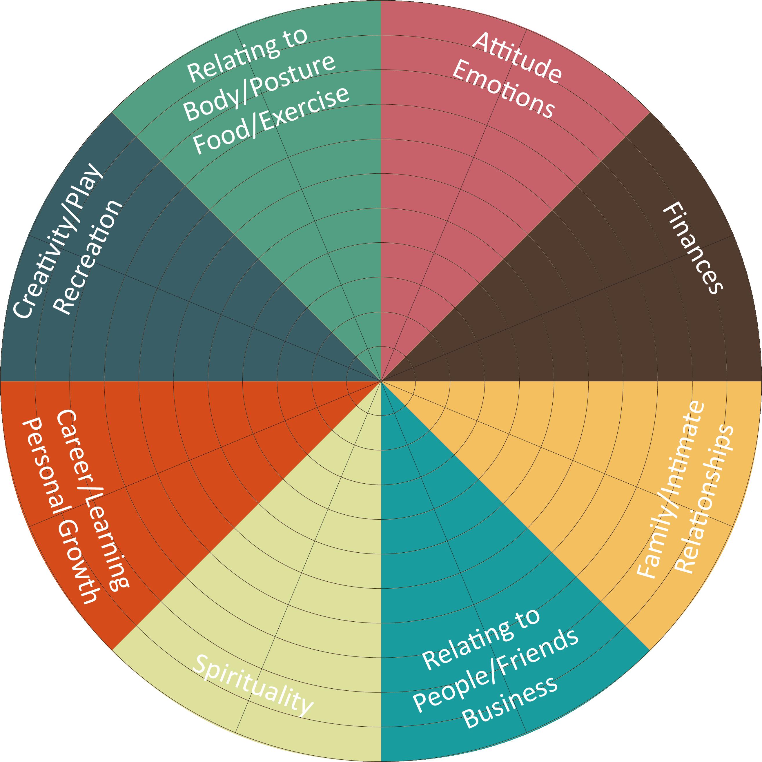 Quantum Vitality Life Balance Wheel